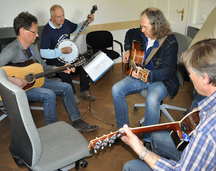 Bluegrass Camp Germany Jam Session