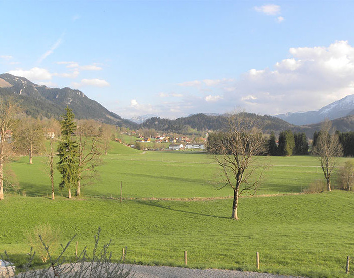 View from Bildungshaus Achatswies, Fischbachau