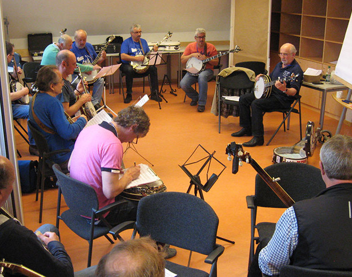 Bluegrass Camp Germany 2015 - Greg Cahill's Banjo Class