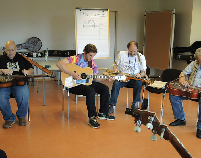 Bluegrass Camp Germany 2015 - Phil Leadbetter's Dobro Class