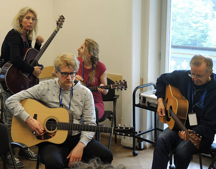 Bluegrass Camp Germany 2015 - Steve Kaufman's Guitar Class