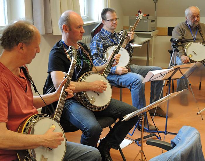 Bluegrass Camp Germany 2015 - Banjo Class