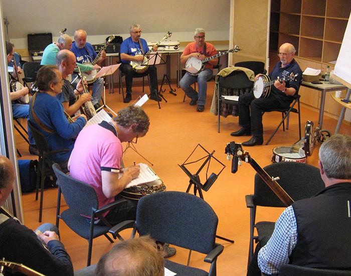 Bluegrass Camp Germany 2015 - Greg Cahill's Banjo Class
