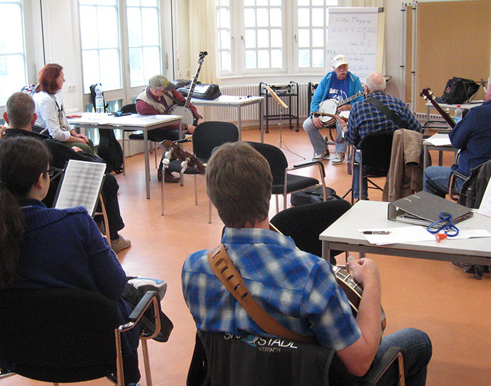 Bluegrass Camp Germany 2015 - Rüdiger Helbig's Banjo Class