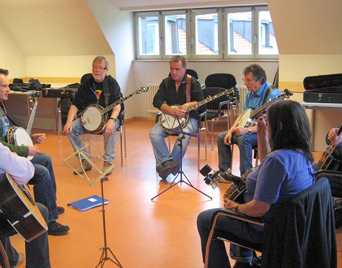 Bluegrass Camp Germany 2015 - Tom Bodenmann's Banjo Class