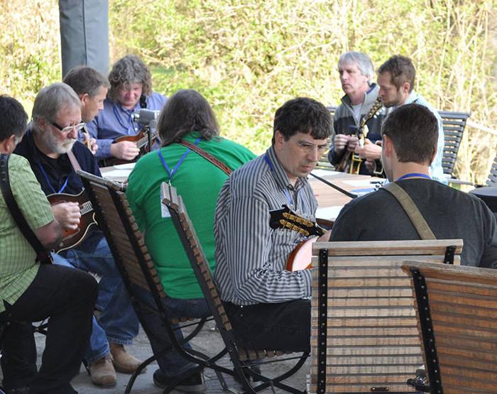Bluegrass Camp Germany 2014 - Outdoor Class