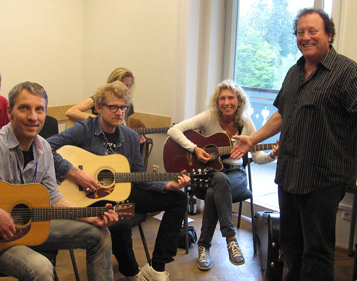 Bluegrass Camp Germany 2015 - Steve Kaufman's Guitar Class